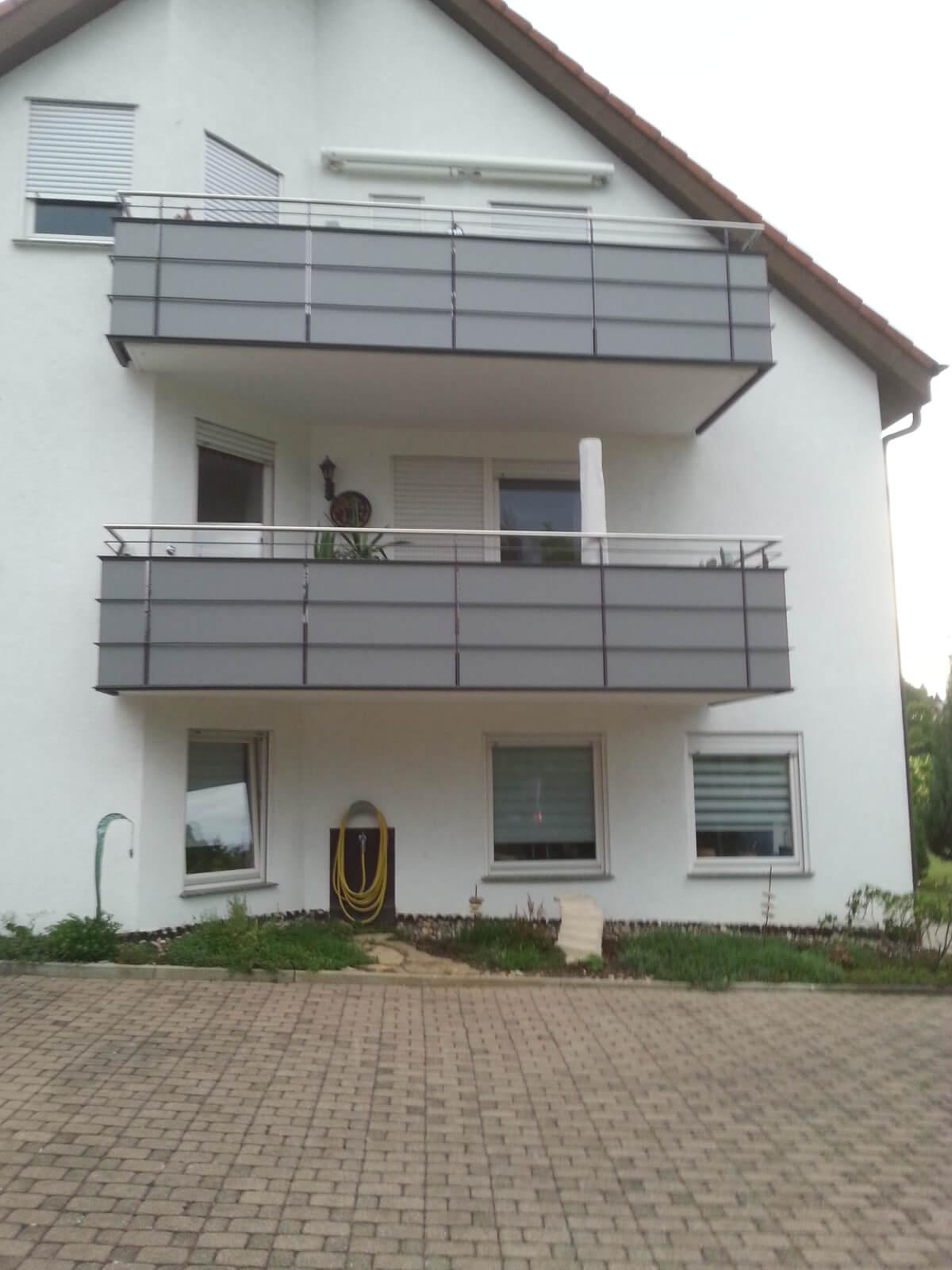 Balkone Schlosserei Hagmeier