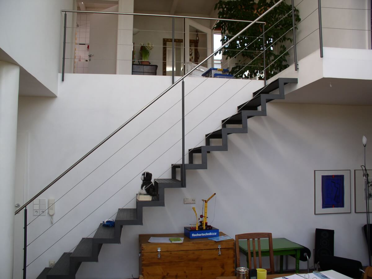 Treppengelander Schlosserei Hagmeier
